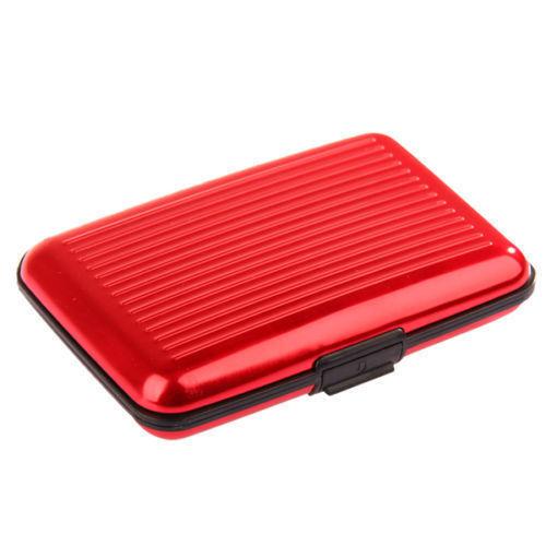 Metal Aluminium Business Metal Aluminium Business Id Pocket Case Box Waterproof