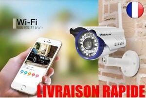 Camera-Etanche-VStarcam-C7815WIP-Sans-Fil-IP-Exterieure-Nuit-Vision-128G-TF-CCTV