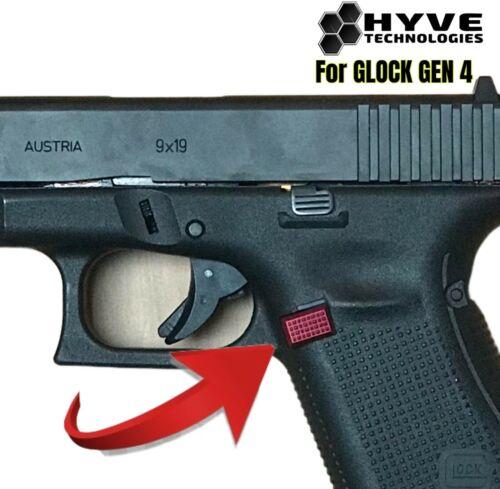 HYVE Technologies Extended Magazine Billet Aluminum Release f Glock Gen 4 5 EMR