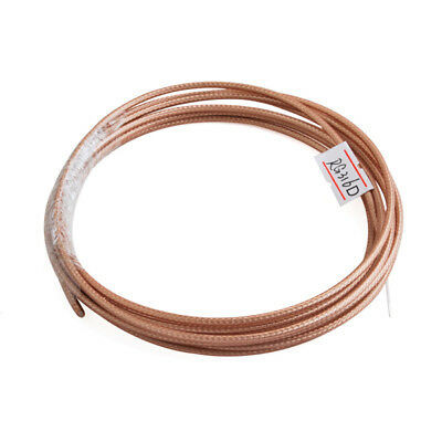 200 Feet RG316 Single Copper Braid Shielded RF Coaxial Cable