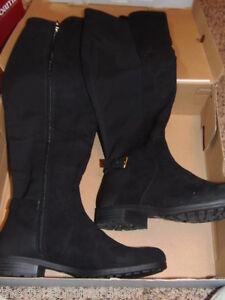 2d026f160f6 LIZ CLAIBORNE - WOMENS - BOOTS - BLACK - LC POLLY - SIZE 7 1 2M ...