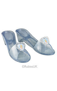 FANCY-DRESS-ACCESSORY-GIRLS-DISNEY-PRINCESS-CINDERELLA-JELLY-SHOES