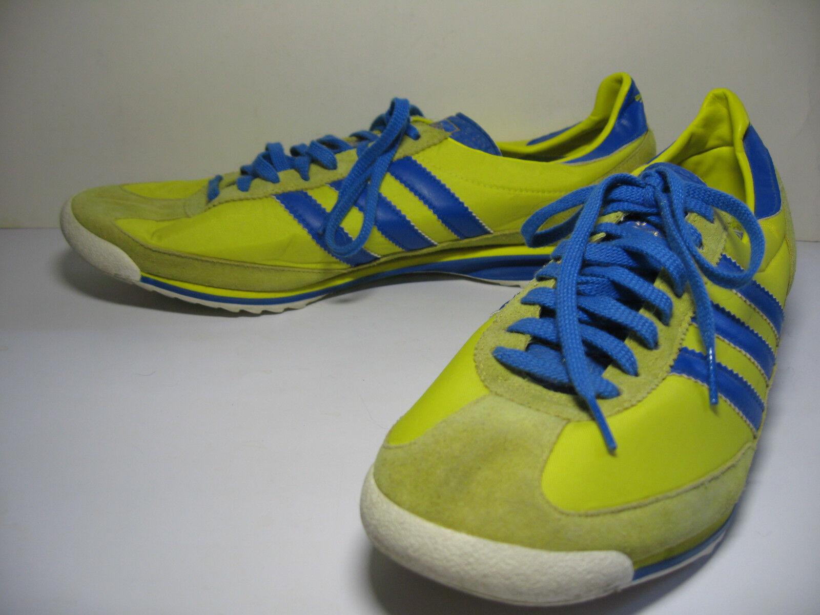 Adidas Originals Amarillo Sl 72 Retro Azul Amarillo Originals pista de entrenamiento Sl72 Zapatillas tamaño para hombre 13 b6120d