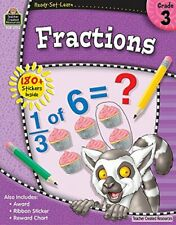 Fractions Grade 3 by Created Resources Teacher (2010, Paperback, New Edition)