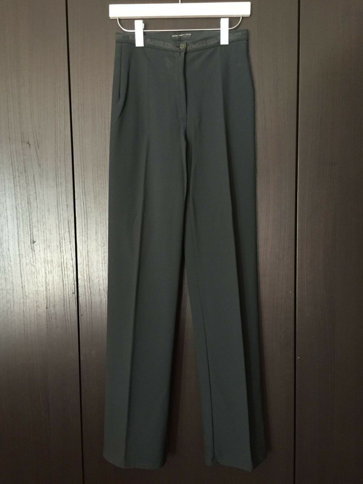 VINTAGE Marithe Francois Girbaud Spqrcity Dark Green Stretch Pants Size USA 27