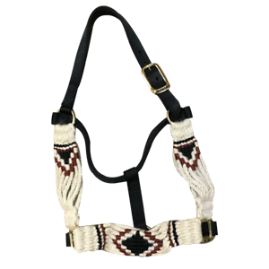 5 Star Equine Products  Mohair Hair Halter Style C  the classic style