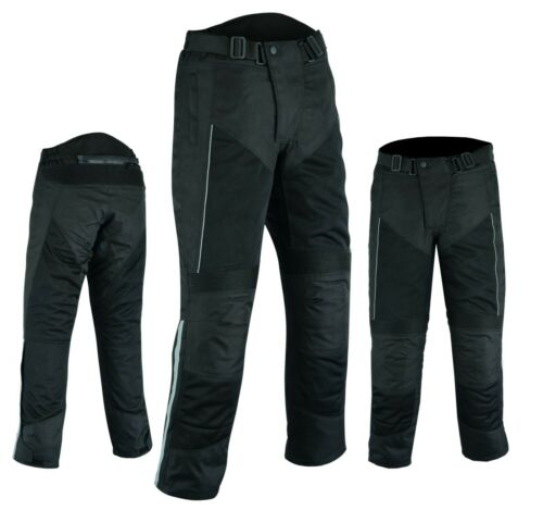 WARRIOR SUMMER MESH Motorcycle Waterproof Breathable Textile CE ARMOUR Trouser