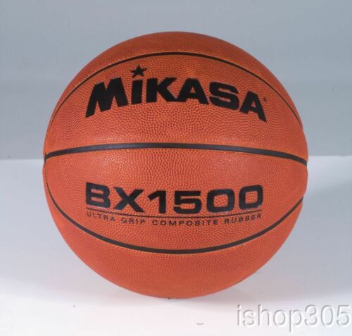 Mikasa BX1500 Basketball Ball Ultra Grip Composite Cover Official Size 7