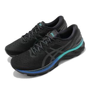 Asics-Gel-Kayano-27-Lite-Show-Black-Blue-Men-Running-Shoes-Sneakers-1011B094-001
