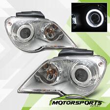 [CCFL Halo] 2007 2008 Chrysler Pacifica HID Model Chrome Projector Headlights