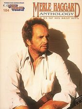 The New Merle Haggard Anthology Sheet Music E-Z Play Today Book NEW 000290252