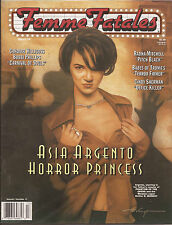 Femme Fatales Magazine Volume 7 #13 FREE S/H  Asia Argento Horror Princess