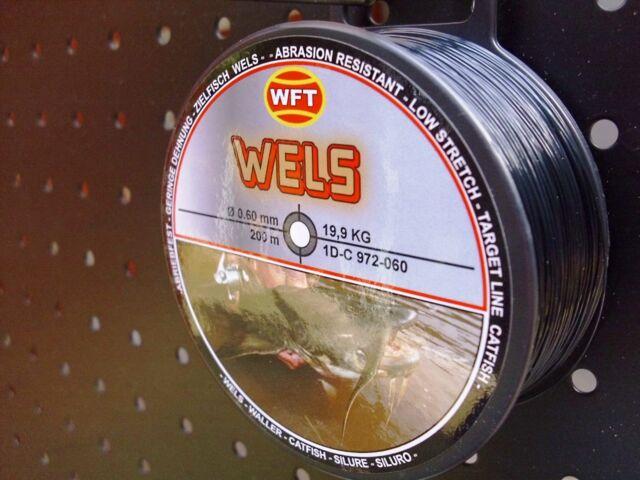 WFT monofile Schnur Zielfisch Forelle Angelschnur Hecht Zander Wels Brandung