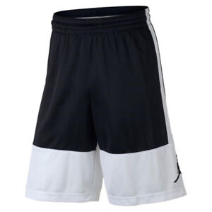 e9eeb5d3d17d Image is loading NIKE-Jordan-Basketball-Shorts-AR2833-100-White-Black-