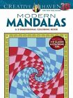 Creative Haven 3-D Modern Mandalas Coloring Book by Randall McVey (Paperback, 2014)