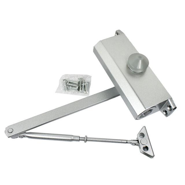 Aluminum Alloy Hydraulic Door Closer Size 45-65KG Commercial Wooden//Metal Door