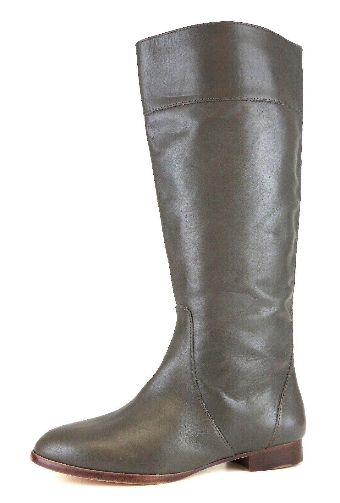 tutti i prodotti ottengono fino al 34% di sconto J.Crew Booker Buckle Tall Leather avvio avvio avvio grigio donna Sz 8.5 5125   sconto di vendita