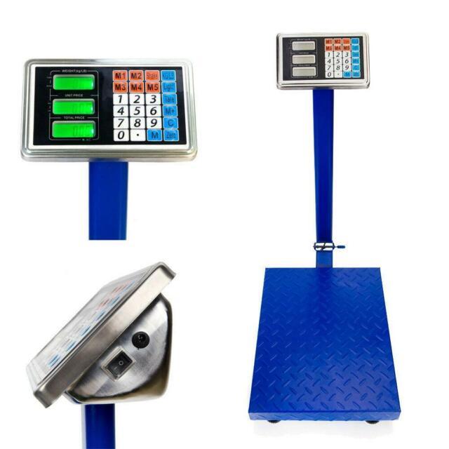 New Heavy Duty 300KG/660lb Industrial Platform Postal Weighing Scales YZ-910