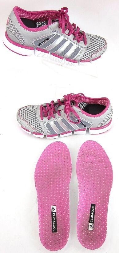 Adidas Climacool Oscillation Running Training shoes Grey Pink Sz 6