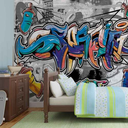 FOTOTAPETE VLIES FOTOMURAL XXL Graffiti Street Art 2294WS