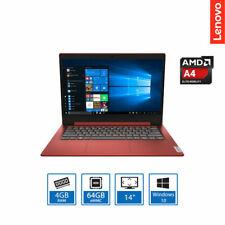 "Lenovo Ideapad Slim upto 14"" HD Laptop AMD A4-9120e, 4GB RAM, 64GB eMMC, Win10"