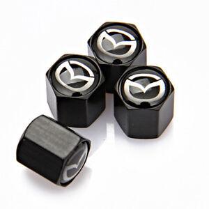 Universal-Auto-Dekorationen-Rad-Reifen-Staubschutz-Reifen-Ventilkappe-fuer-Mazda