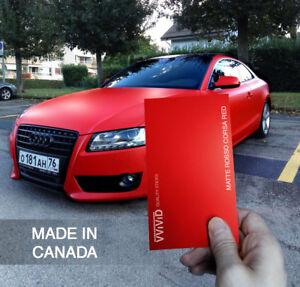 Details about Vvivid Satin-Matte Rosso Corsa (Ferrari) Red Vinyl Car Wrap  Vehicle Film