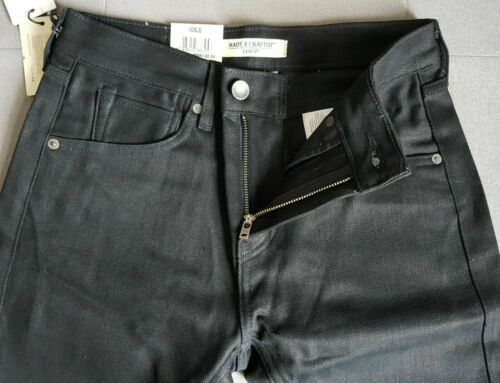 Jean Levi/'s Tack Slim Made /& Crafted Regular Rise