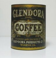 Glendora Warren Pa Coffee Can Food Safe Tin Canister Vintage Style Kitchen Decor