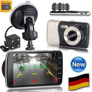 dual lens hd 1080p auto kamera vehicle dvr berwachung. Black Bedroom Furniture Sets. Home Design Ideas