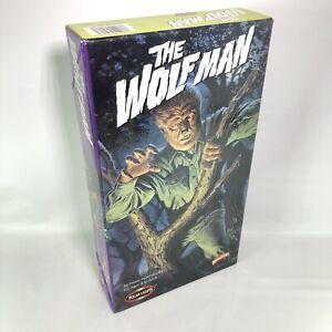 THE WOLF MAN MODEL KIT #5018 1998 POLAR LIGHTS - NEW OPENED BOX