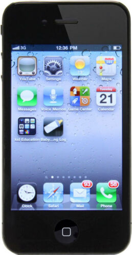 1 of 1 - Apple iPhone 4 - 16GB - Black (Verizon) With $40 Plan!