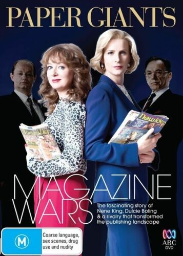 1 of 1 - Paper Giants - Magazine Wars, Australian (DVD, 2013, New & Sealed) cg4
