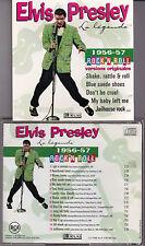 CD 15T ELVIS PRESLEY LA LÉGENDE 1956-57 ROCK 'N ROLL EDITIONS ATLAS BMG FRANCE