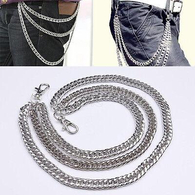 Fashion Hip Hop Punk Pants Trousers Wallet Key Chain Motorcyle Jean Gothic Rock