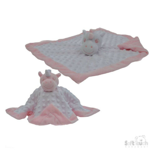 Bebé burbuja Suave Manta De Etiqueta De Unicornio Edredón TAGGY Manta Polar De Juguete De Regalo Chica