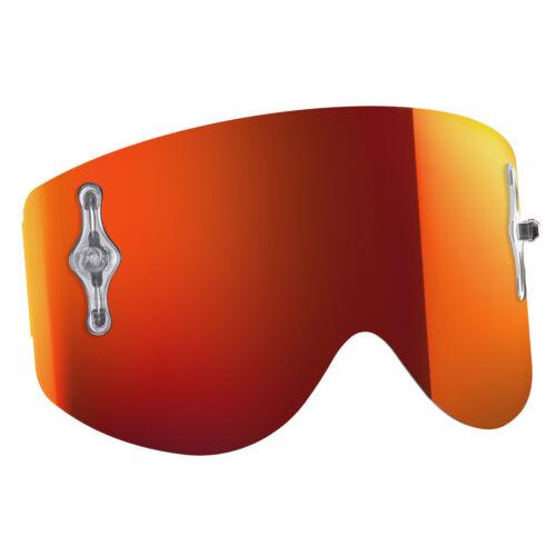 Scott Goggle Single Works remplacement vitre pour 80/'s orange chrome centrale