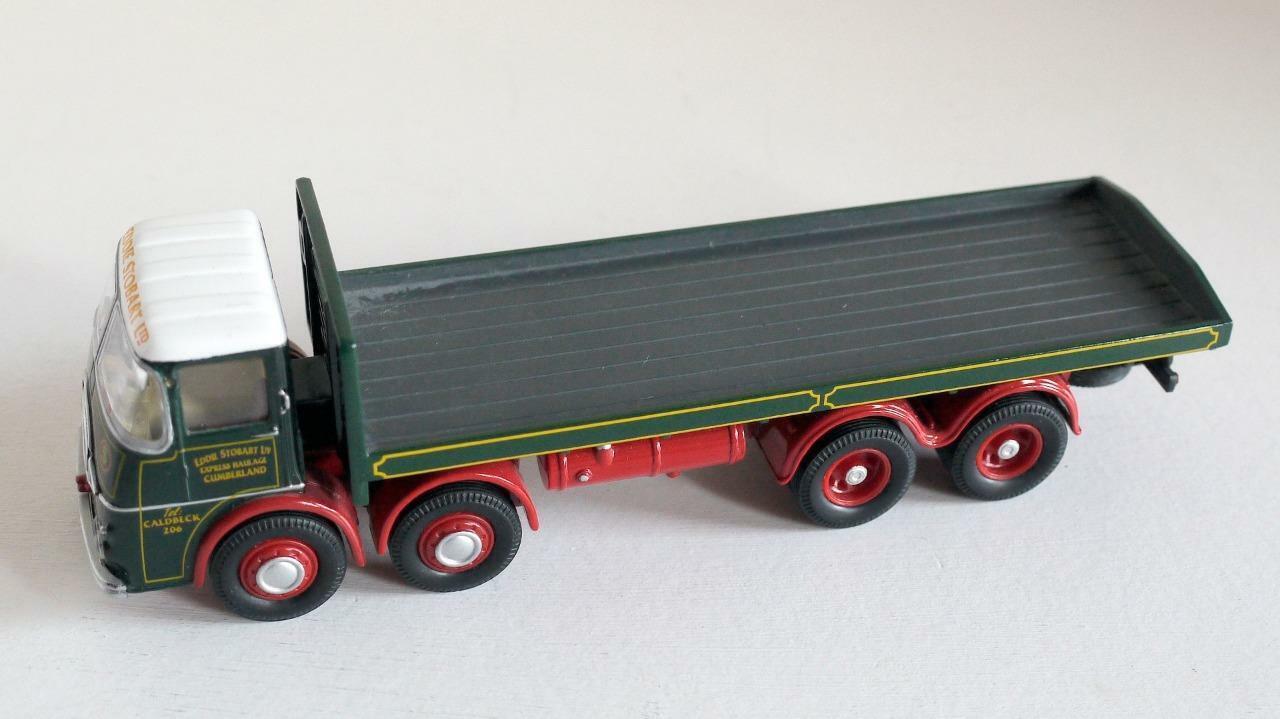 Corgi Toys (Pré Production   Prototype Code 3) Eddie Stobart Erf- Kv Plat Lit