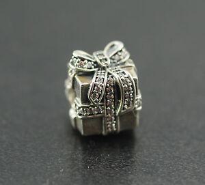 Original-Pandora-Element-Charm-791400CZ-Sparkling-Surprise-New-925-Silver