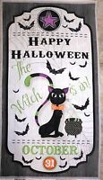 Halloween Fabric Panel Every Witch Way Wilmington Prints The Witch Is In