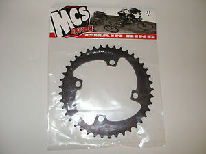 MCS-104-4-BOLT-CHAINRING-GEAR-BMX-46T-BLACK-MADE-IN-THE-USA-BICYCLE