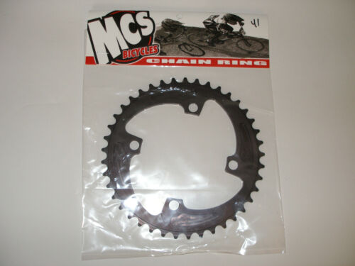 MCS 104 4 BOLT CHAINRING GEAR BMX 45T BLACK MADE IN THE USA