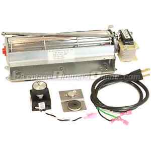 Product Details - GFK4 Fireplace Blower Kit: The GFK4 fan kit is designed to fit a number of fireplaces