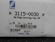 Lot Of 8 Nalgene 31150030 Oak Ridge Centrifuge Tubes 30 Ml