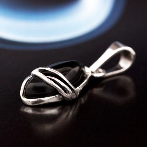 Onyx Silber 925 Anhänger Sterlingsilber Damen Schmuck A0449