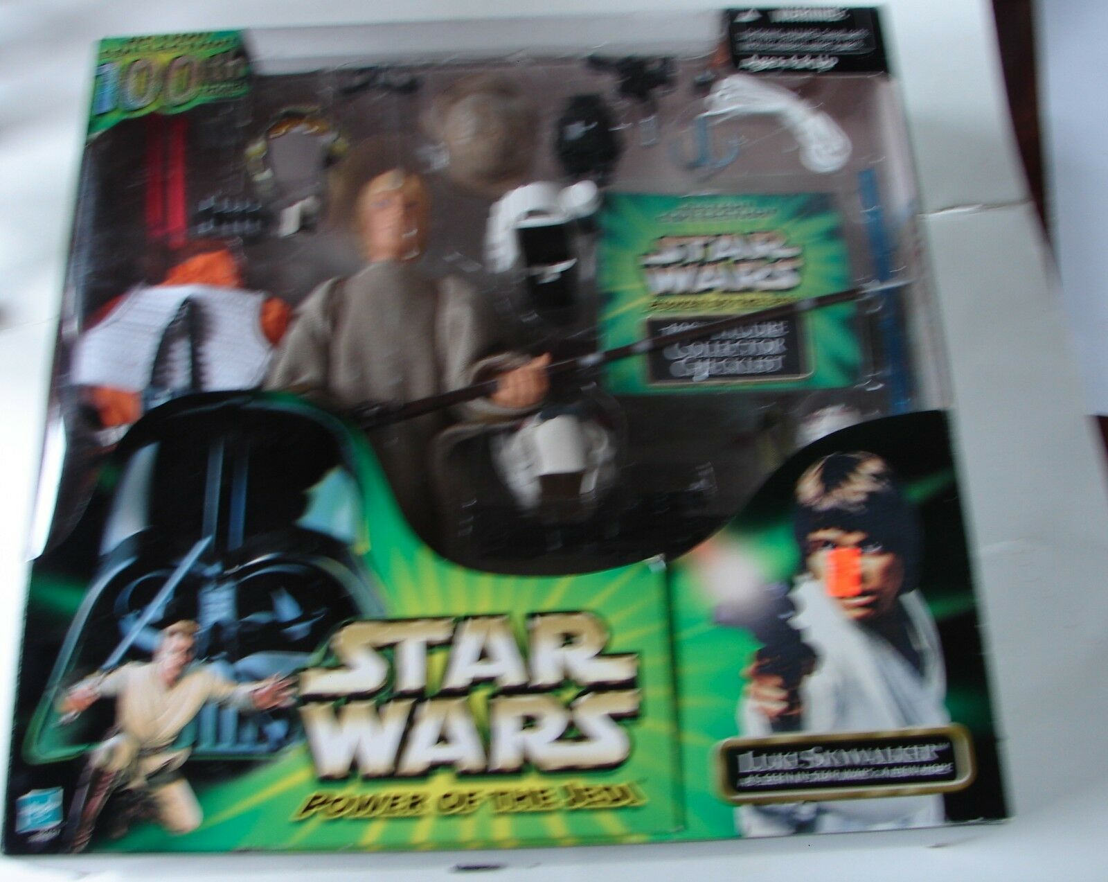 Star wars 12  collectors series 100th action collection Luke Skywalker POTJ