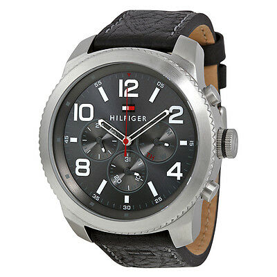 Tommy Hilfiger Graham Casual Sport Analog Display Quartz Mens Watch 1791110