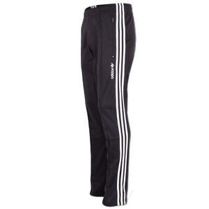 Details zu adidas Herren Originals Trainingshose Europa Track Pant Trefoil Hose schwarz