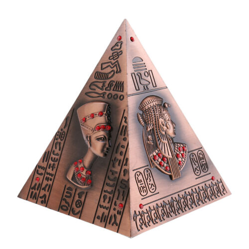 Egyptian Pyramid Piggy Bank Collectible Wedding Favors Child/'s Gifts Copper