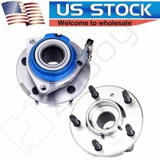 Pair Front Wheel and Bearing For Chevy Impala Monte Carlo Buick LeSabre HD FWD